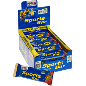 High5 SportBar Energitillskott Red Fruits 25 x 55g